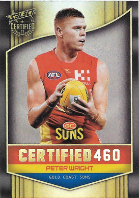 Peter Wright, Certified 460, 2017 Select AFL Certified