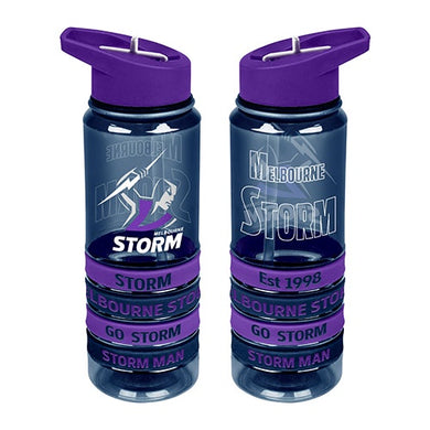 MELBOURNE STORM TRITAN BOTTLE & BANDS