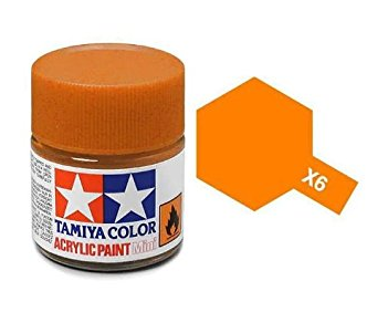 TAMIYA ACRYLIC MINI X-6 ORANGE 10ml