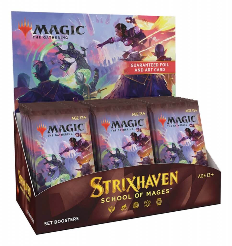 MAGIC: THE GATHERING Strixhaven: School of Mages - Set Booster Box