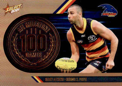 Rory Atkins, 100 Games Milestone, 2021 Select AFL Footy Stars