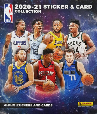 2020-21 Panini Basketball – Stickers and Card Collection NBA Packet