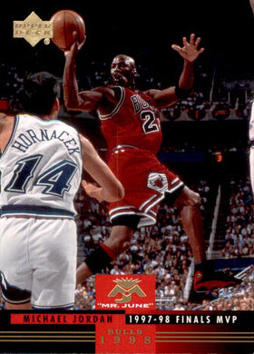 Michael Jordan, Mr June, MJ-12, 2008-09 UD Lineage Basketball NBA