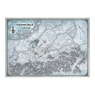 D&D Dungeons & Dragons Icewind Dale Map Set