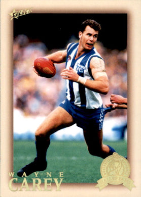 Wayne Carey, HFLE206, Hall of Fame Series 4, Red Back, 2012 Select Eternity AFL