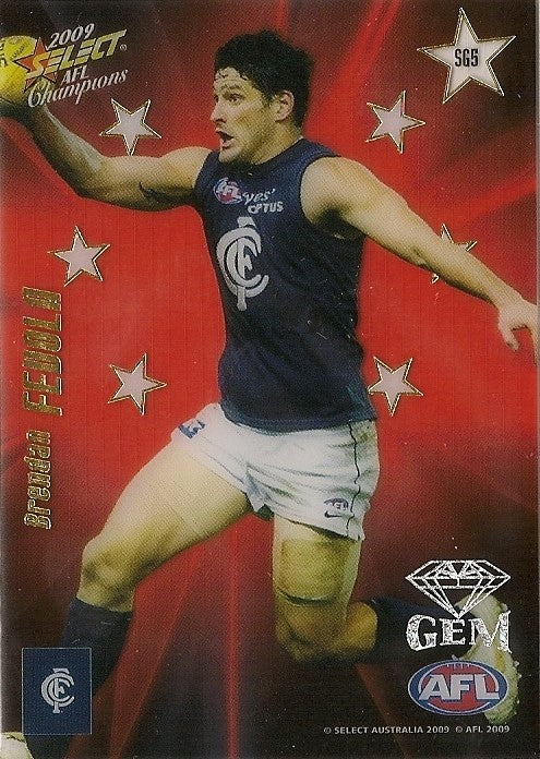 Brendan Fevola, Red Gem, 2009 Select AFL Champions