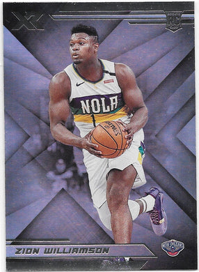 Zion Williamson, RC, XR, 2019-20 Panini Chronicles NBA Basketball