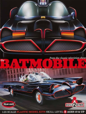 1966 Batmobile 2-pack, 1:25 Scale Plastic Model Kit