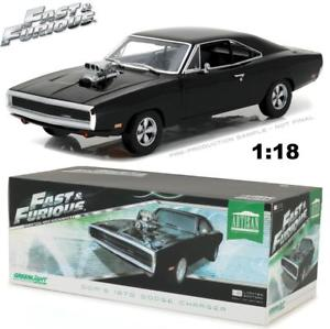 Dom's 1970 Dodge Charger, Fast & Furious, 1:18 Diecast Model Car