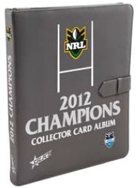 2012 Select NRL Champions Set & Folder
