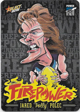 Jared Polec, Firepower Caricatures, 2015 Select AFL Champions