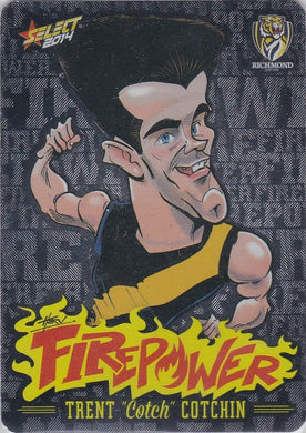 Trent Cotchin, Firepower Caricatures, 2014 Select AFL Champions