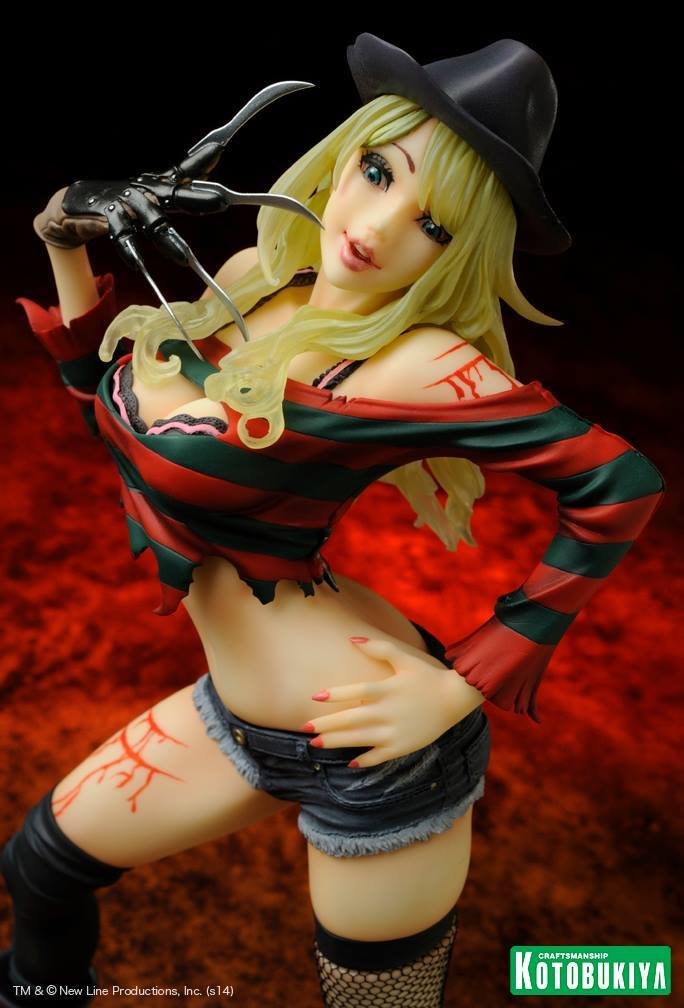 Freddy vs Jason - Freddy Krueger Horror Bishoujo Statue, 2nd Edition