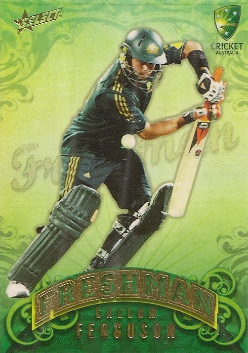 Callum Ferguson, Freshman, 2009-10 Select Cricket