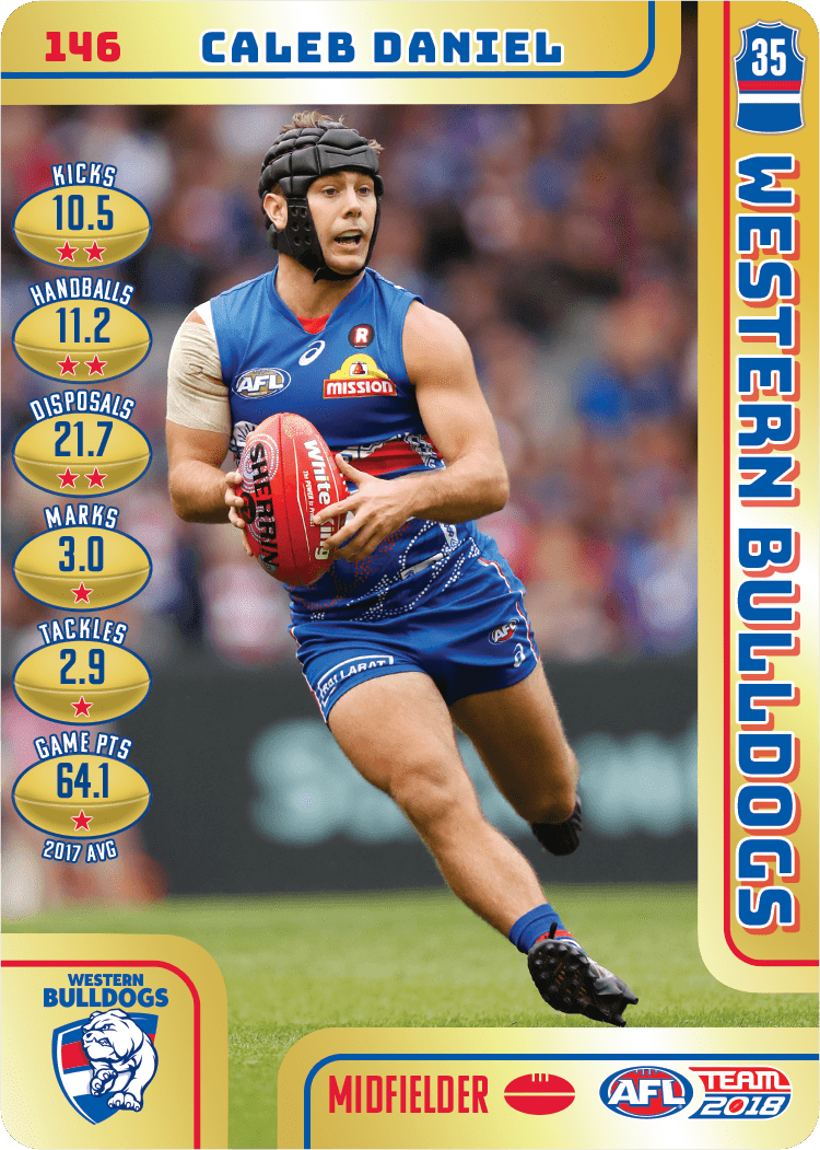 Caleb Daniel, Gold, 2018 Teamcoach AFL