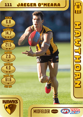 Jaeger O'Meara, Gold, 2018 Teamcoach AFL