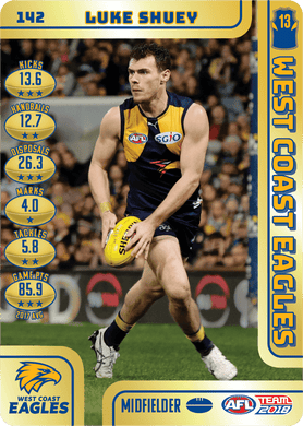 Luke Shuey, Gold, 2018 Teamcoach AFL