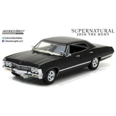 Supernatural 1967 Chevy Impala Sports Sedan, 1:24 Diecast Vehicle
