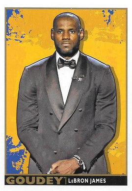 Lebron James, Goudey, 2017 Upper Deck Goodwin Champions