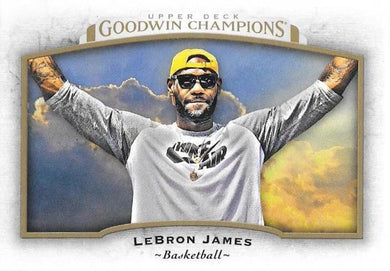 Lebron James, 2017 Upper Deck Goodwin Champions