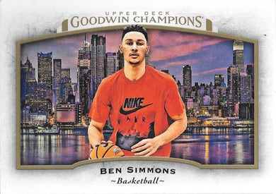 Ben Simmons, 2017 Upper Deck Goodwin Champions
