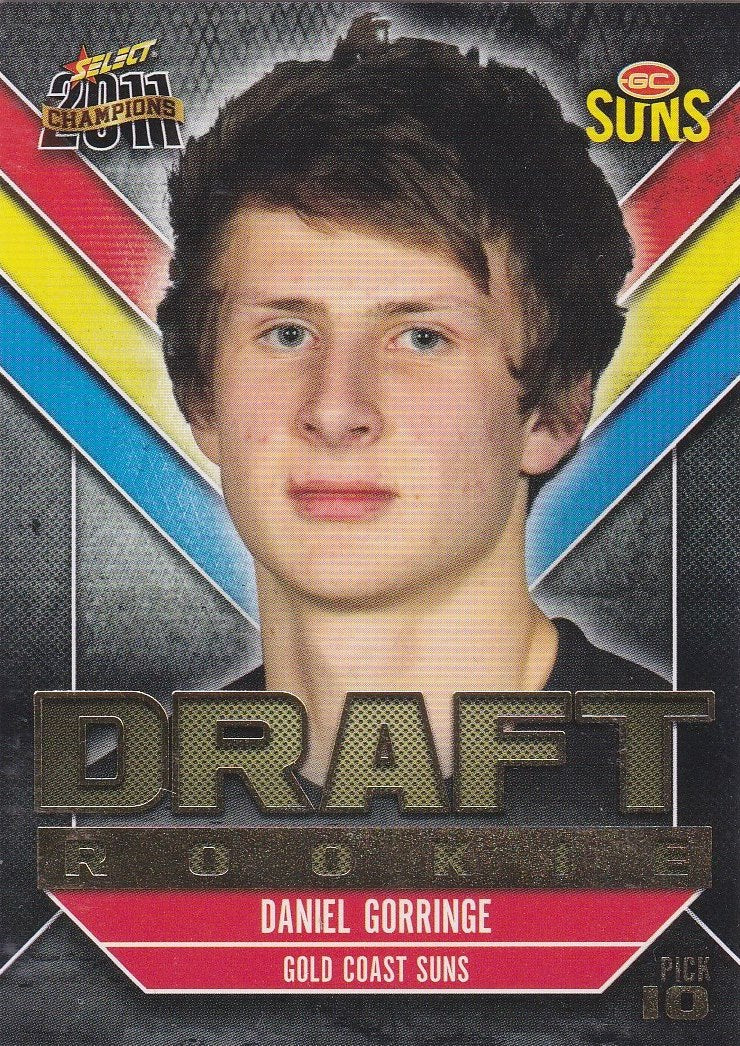 2011 Select AFL Champions, Draft Rookie, Daniel Gorringe