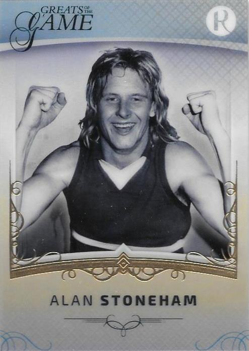 Alan Stoneham, Gold Parallel, 2017 Regal Football Greats of the Game