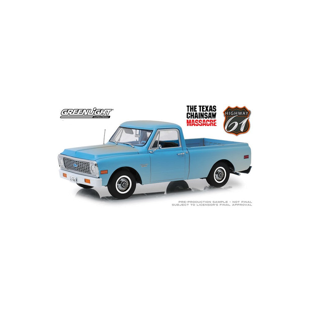 The Texas Chainsaw Massacre, 1971 Chev C-10, Highway 61, 1:18 Diecast Vehicle