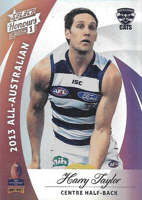 Harry Taylor, All-Australian, 2014 Select AFL Honours 1
