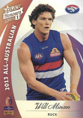 Will Minson, All-Australian, 2014 Select AFL Honours 1