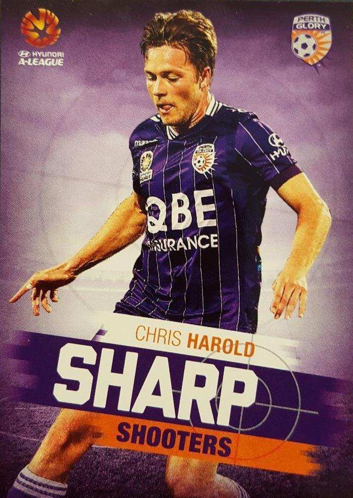 2015-16 Tap'n'play FFA A-League Soccer, Sharp Shooters, Chris Harold, # SH-09