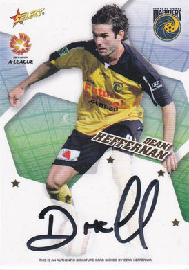 Dean Heffernan, Signature, 2007 Select A-League Soccer