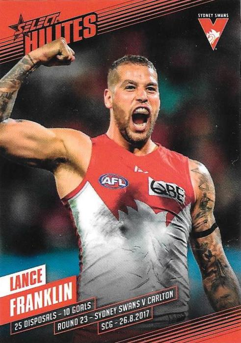 Lance Franklin, Hilites, 2017 Select AFL