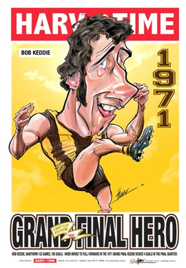 Bob Keddie, Grand Final Hero Harv Time Poster