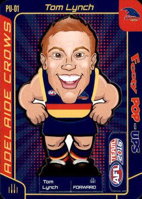 Tom Lynch, Footy Pop-Ups, 2016 Teamcoach AFL