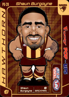 Shaun Burgoyne, Footy Pop-Ups, 2016 Teamcoach AFL