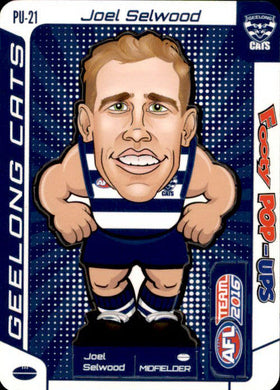Joel Selwood, Footy Pop-Ups, 2016 Teamcoach AFL