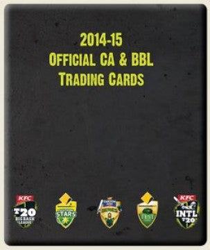 2014-15 TapnPlay BBL CA Cricket Folder
