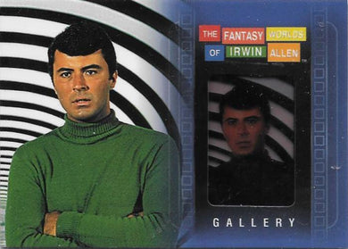 The Time Tunnel, Gallery card, 2004 Rittenhouse The Fantasy Worlds of Irwin Allen (NS)