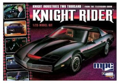 Knight Rider 1982 Pontiac Fire Bird, Plastic Model Kit, 1:25 Scale