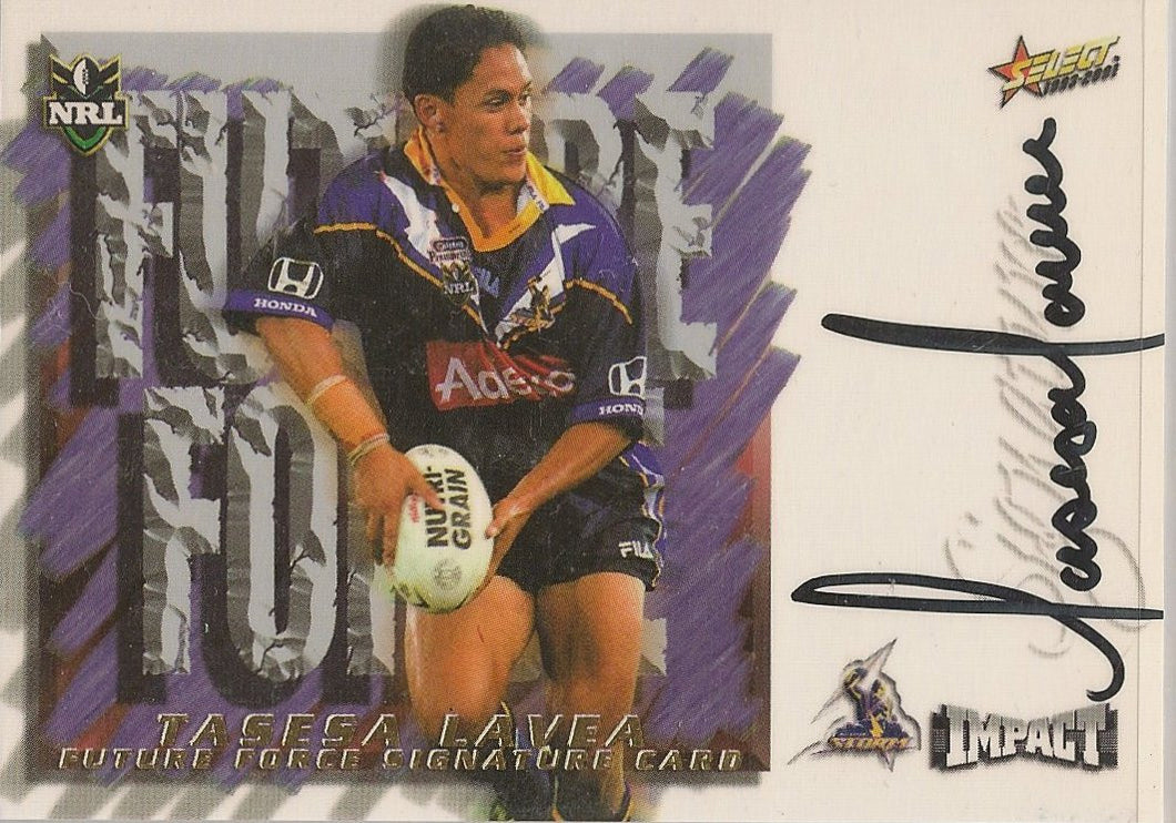 Tasesa Lavea, Future Force, 2001 Select NRL Impact