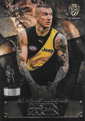 Dustin Martin, MVP Medal Winner, 2018 Select AFL Legacy