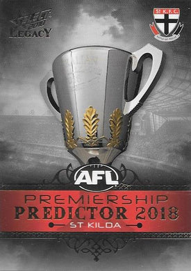 St Kilda Saints, Silver Premiership Predictor, 2018 Select AFL Legacy