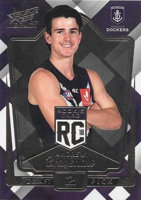 Andrew Brayshaw. Rookies RC, 2018 Select AFL Legacy
