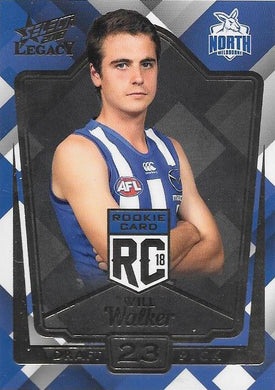 Will Walker, Rookies RC, 2018 Select AFL Legacy