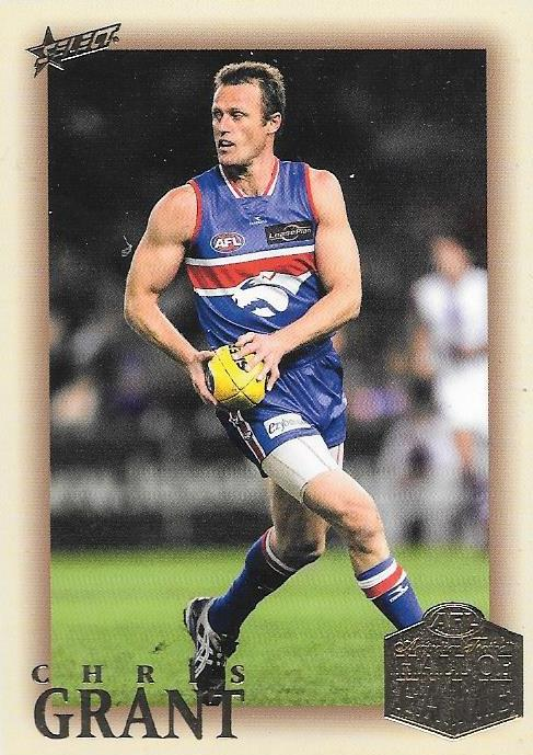 Chris Grant, Hall of Fame Red Back Parallel, 2018 Select AFL Legacy