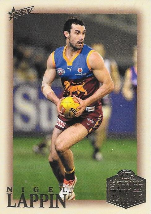 Nigel Lappin, Hall of Fame Players Edition, 2018 Select AFL Legacy