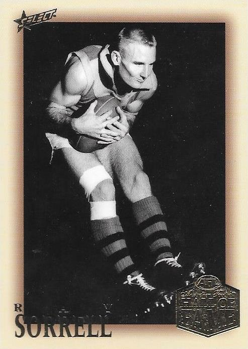 Ray Sorrell, Hall of Fame Players Edition, 2018 Select AFL Legacy