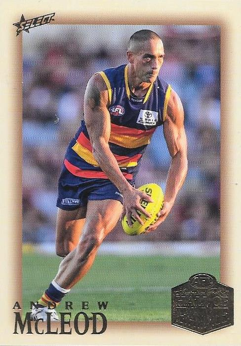 Andrew McLeod, Hall of Fame Red Back Parallel, 2018 Select AFL Legacy