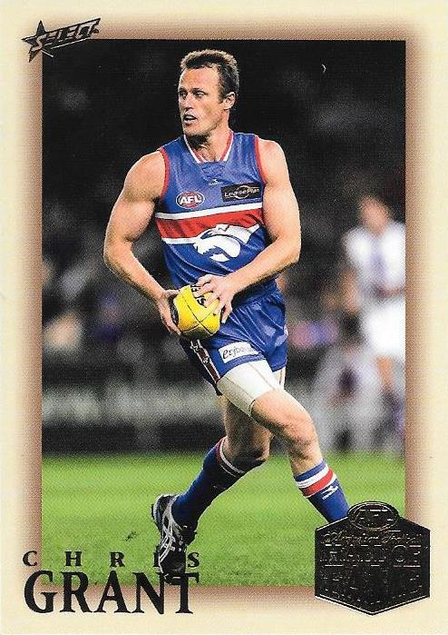 Chris Grant, Hall of Fame Players Edition, 2018 Select AFL Legacy